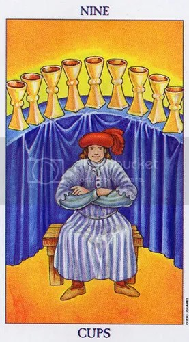 Virgo - Nine of Cups