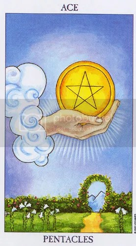 Cancer - Ace of Pentacles