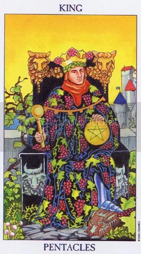 Aries - King of Pentacles