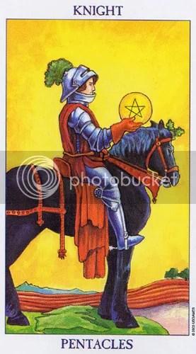 Virgo - Knight of Pentacles