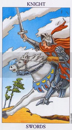 Cancer - Knight of Swords