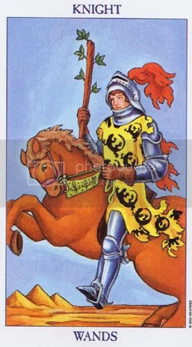 Libra - Knight of Wands