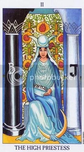 Sagittarius - High Priestess