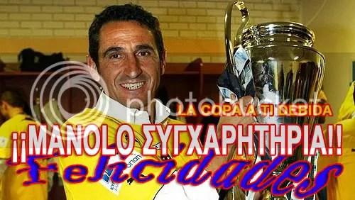 Jiménez Campeón Copa Grecia