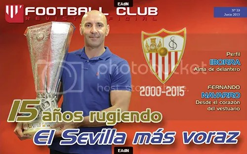 2015-06 (22) Monchi '15 años rugiendo' (Football Club -Junio 2015-)