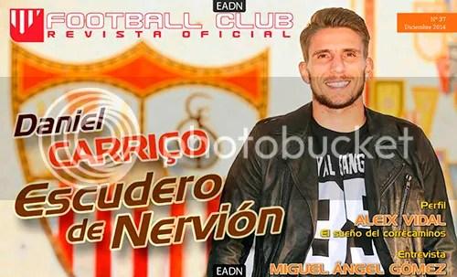 2014-12 Football Club Revista Oficial Carriço, Escudero de nervión