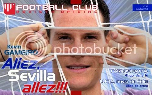 Kevin Gameiro Allez, Sevilla allez!!! (Football Club -Octubre 2013-)