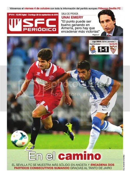 SFC Periódico 29.09.13 RSociedad 1 Sevilla FC 1