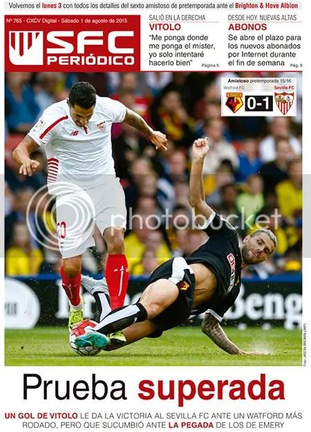 2015-08 (01) SFC Periódico Watfor 0 Sevilla 1