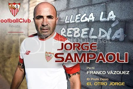 2016-09 FOOTBALL CLUB Jorge Sampaoli, llega la rebeldía