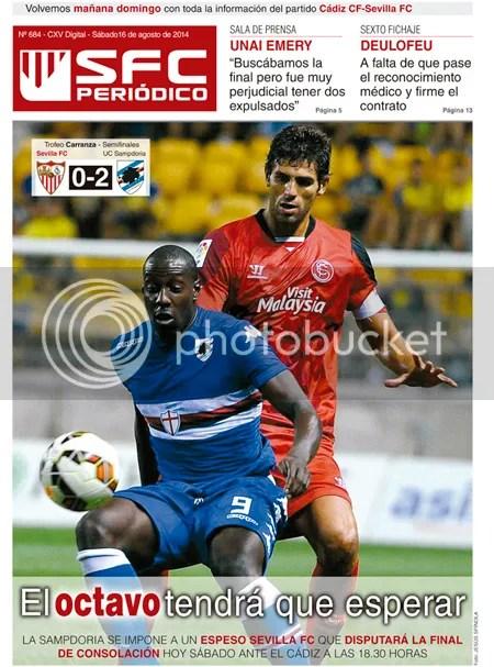 2014-08 (16) SFC Periódico Sevilla 0 Sampdoria 2