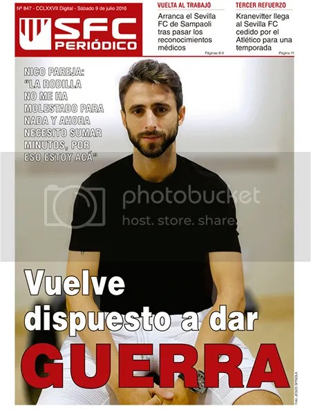 2016-07 (09) SFC Periódico Nico Pareja, dispuesto a dar GUERRA