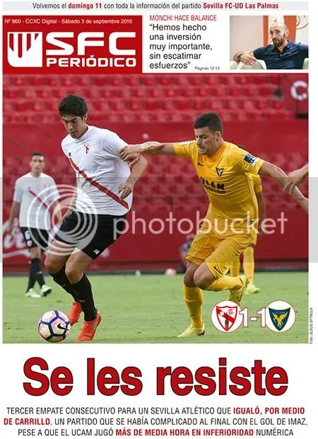 2016-09 (03) SFC Periódico Sevilla Atlético 1 UCAM Murcia 1