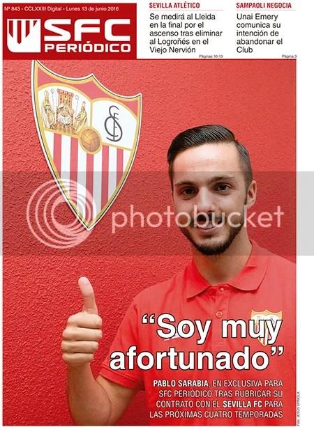 "2016-06 (13) SFC Periódico Sarabia: ""Soy muy afortunado"""
