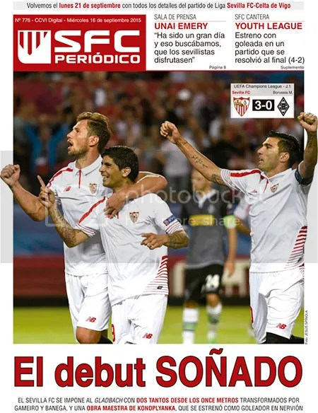 2015-09 (16) SFC Periódico El debut SOÑADO