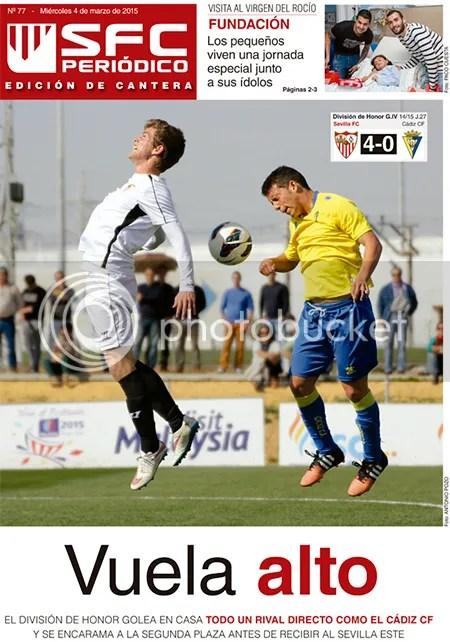 2015-03 (04) SFC Periódico -Ed.Cantera- Sevilla 4 Cádiz 0