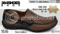 Sepatu Pria OVAL 606