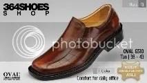 Sepatu Pria OVAL 6510 Tan