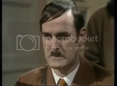 Buchanan: John Cleese started WWII