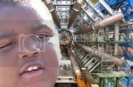 Latarian Milton will destroy us all with the LHC