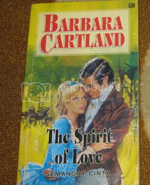 spirit of love,barbara cartland