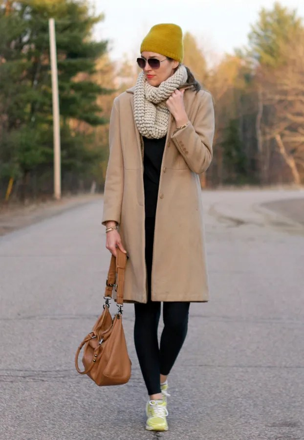 casual winter errand outfit