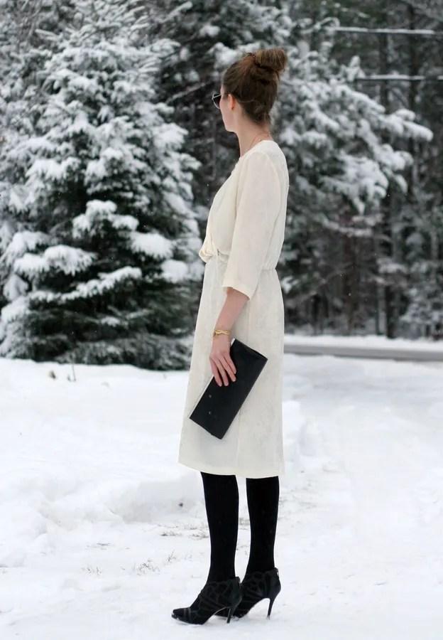 summer dress for winter