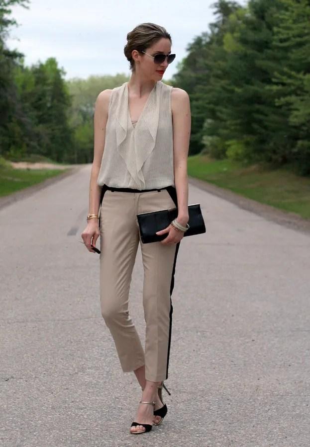 aritzia silk ainsley finley blouse