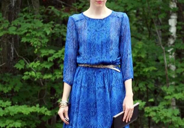 aritzia flowy silk dress