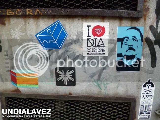 Stickers en La ONG