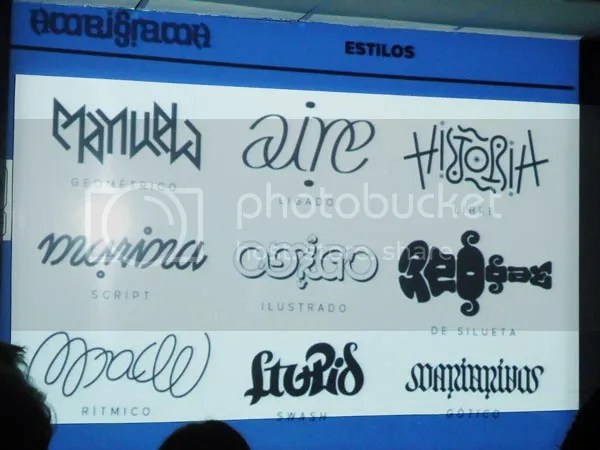 estilos de ambigrama