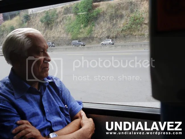 Rostro en el Metrobus