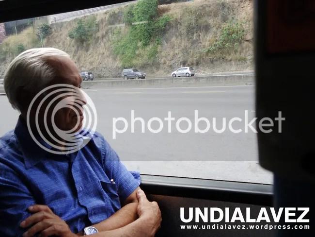 Rostro en el Metrobus