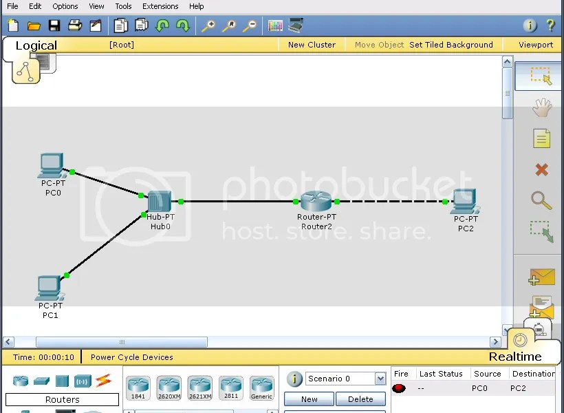Contoh Cisco Packet Tracer