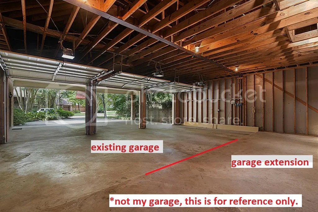 Extending 3 Car Garage Cost Guess With Pictures The Garage Journal Board