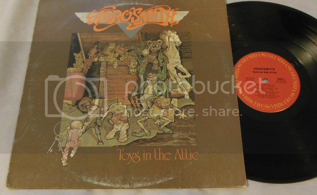 Aerosmith Toys In The Attic Records Lps Vinyl And Cds