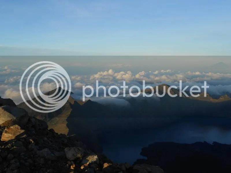 Segara Anakan from the Peak of Mt. Rinjani