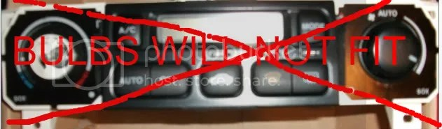 3145f Honda Accord 98 99 00 Oem Temp Ac Heat Climate Control Panel