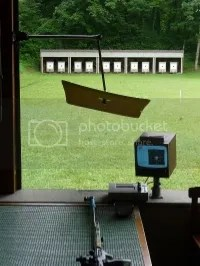 parasoles en campos de tiro olímpico en Suiza