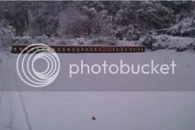 Tirada con nevada