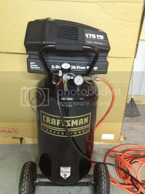Craftsman 60 Gallon Air Compressor 175 Psi