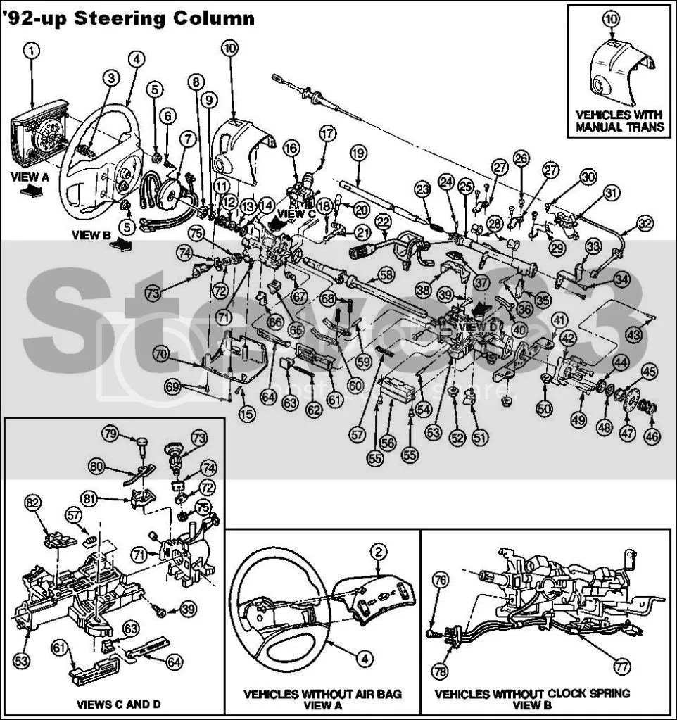 1997 Ford F 150 Steering Column Wiring -  Ford F Steering Column Wiring on ford freestyle steering column, ford aerostar steering column, ford f350 steering column, ram 1500 steering column, ford f-250 steering column, ford f-150 steering bar, chevy silverado steering column, ford ltd steering column, ford ranchero steering column, ford f-150 steering wheel cover, ford steering column shaft, ford explorer steering column, honda accord steering column, 1992 ford steering column, ford f-150 power steering belt, ford e-150 steering column, ford bronco tilt steering column, ford f150 back window, suzuki samurai steering column, ford f100 steering column,
