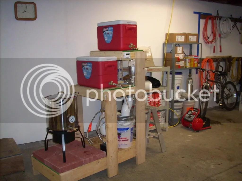 all grain setup weekend