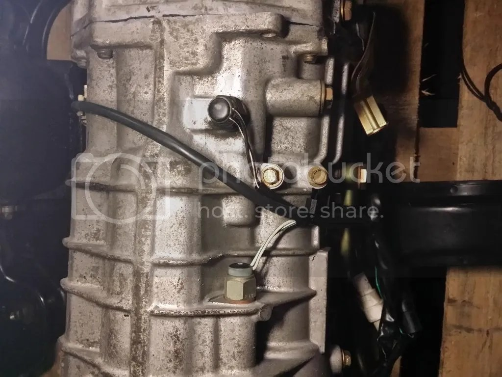 hight resolution of we ll be finding the stock 4 wires that were on the automatic transmission and connecting them to the proper place on the plug that correspond with these