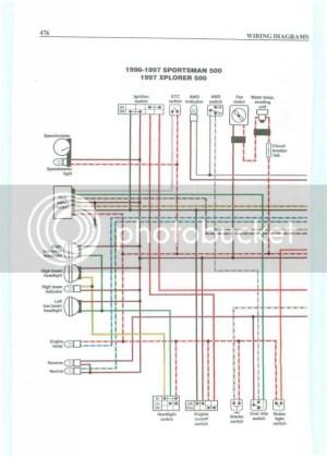 Wiring for ignition switch help 96 xplorer 400  Polaris