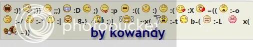 memasang emoticon yahoo di kotak komentar