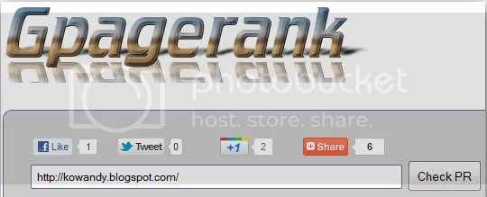 pagerank blog