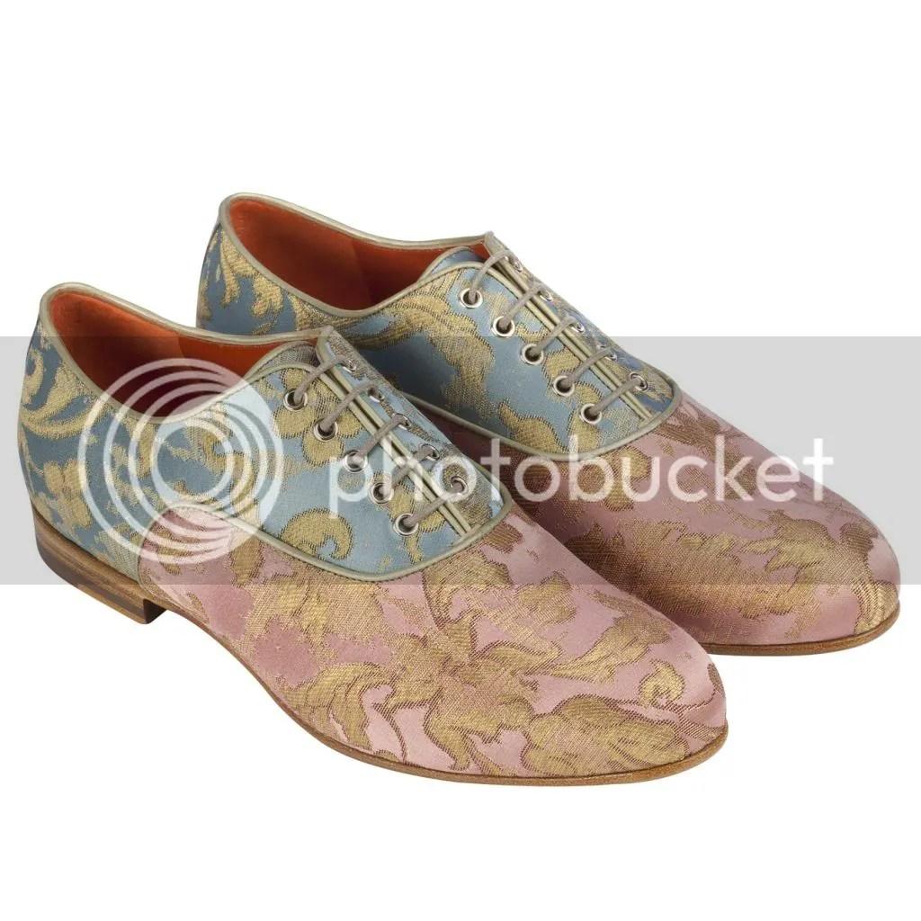 Les Belles Chaussures: Santoni Oxford Shoes