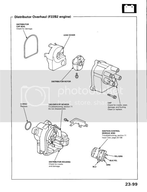small resolution of honda civic distributor wiring wiring diagram database u2022 at 91 honda accord distributor spark plug
