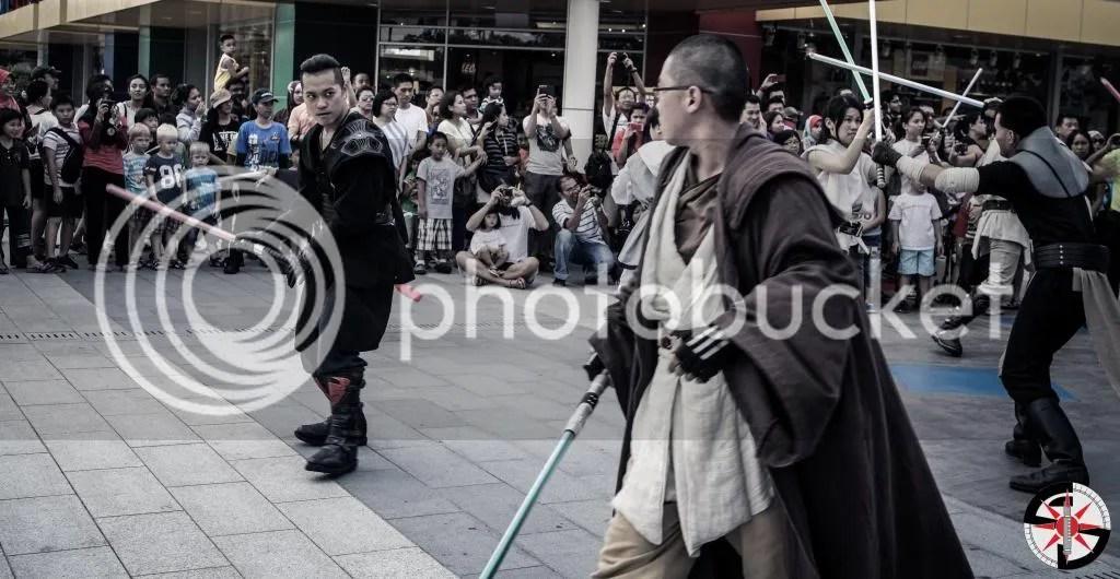 The Smith Lord going up against Padawan Koran Terrani